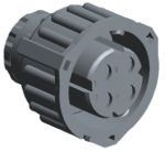 Product image for Housing 4 way socket 2.5mm System