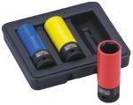 Product image for Wheel Socket Sets,17/19/21mm