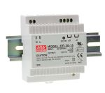 Product image for DR-30 series, 30 watt Din Rail 15Vdc