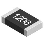 Product image for SMD 1206 thick film resistor 100K 1%