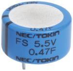 Product image for Super Capacitor FS0 series 0.47F 5.5V