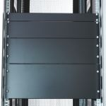 """Product image for Steel 1U Blanking panel 19"""", RAL7035"""