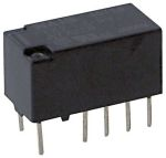 Product image for Relay,DPDT-NO/NC,5DC,Vol-Rtg 30DC,10 Pin