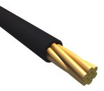 Product image for EcoWire Plus 24AWG 300V Wire Black 30m