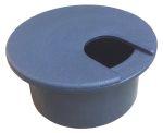 Product image for RS PRO Grey Desk Grommet 80mm Panel Hole Diameter