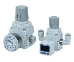 Product image for Vacuum Regulator, W.Bracket and Gauge