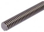Product image for Steel Lead Screw 20 X 4 Thread X 1m