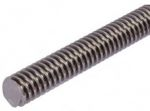 Product image for Steel Lead Screw 24 X 5 Thread X 1m