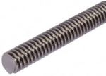 Product image for Stainless Lead Screw 14 X 3 Thread X 1m