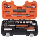 """Product image for 1/4"""" & 3/8"""" SOCKET SET, INCHES"""