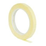 Product image for 1350-1 polyester fim tape yellow 9mmx66m