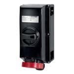 Product image for IntSkt Ex II 2GD 63A 6h 3P+N+E 400v IP66