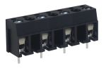 Product image for 10mm PCB terminal block, std profile, 4P