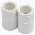 Product image for Wht PVC female adaptor for conduit,25mm