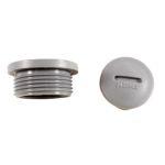 Product image for HPM12 SLATE METRIC M12 HOLE PLUG