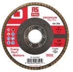 Product image for 125mm x 22mm Zirconium Flap Discs P40 (5