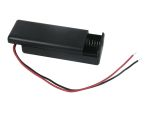 Product image for Safety Battery Holder , AAA x 2 with lea