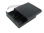 Product image for Safety Battery Holder , AA x 4 with lead