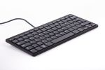 Product image for Raspberry Pi Keyboard, QWERTY (US) Black, Grey
