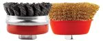 Product image for 75mm Cup Brush Twin Pack