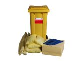 Product image for 105L Spill Kit in 2 Wheeled Bin