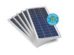 Product image for 20w RS Solar Panel Bulk Pack (5 Panels)