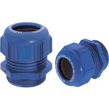 Product image for Cable Gland M20 Plastic K-M ATEX IP68