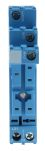 Product image for SPDT DIN rail relay skt - plastic clip