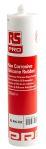 Product image for Non-corrosive silicone sealant,Wht 310ml