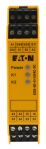 Product image for SAFETY RELAY, SINGLE CHANNEL, 24VAC/DC