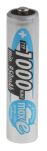 Product image for AAA NIMH BATTERY,PIPPED,1.2V 1000MAH