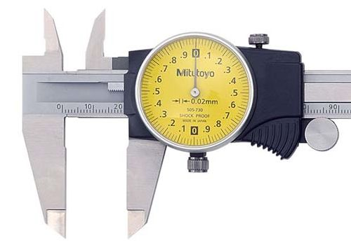 Uhren-Messschieber (Detail)