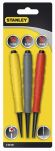 Product image for 3PCS STANLEY DYNAGRIP(R) NAIL PUNCH SET
