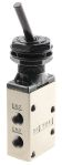 Product image for 1/8in 3/2 NO/NC mechanical toggle valve