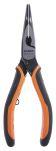 Product image for Ergonomic bent snipe nose plier,160mm L