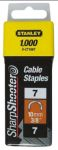 Product image for 10MM CABLE STAPLES 1000