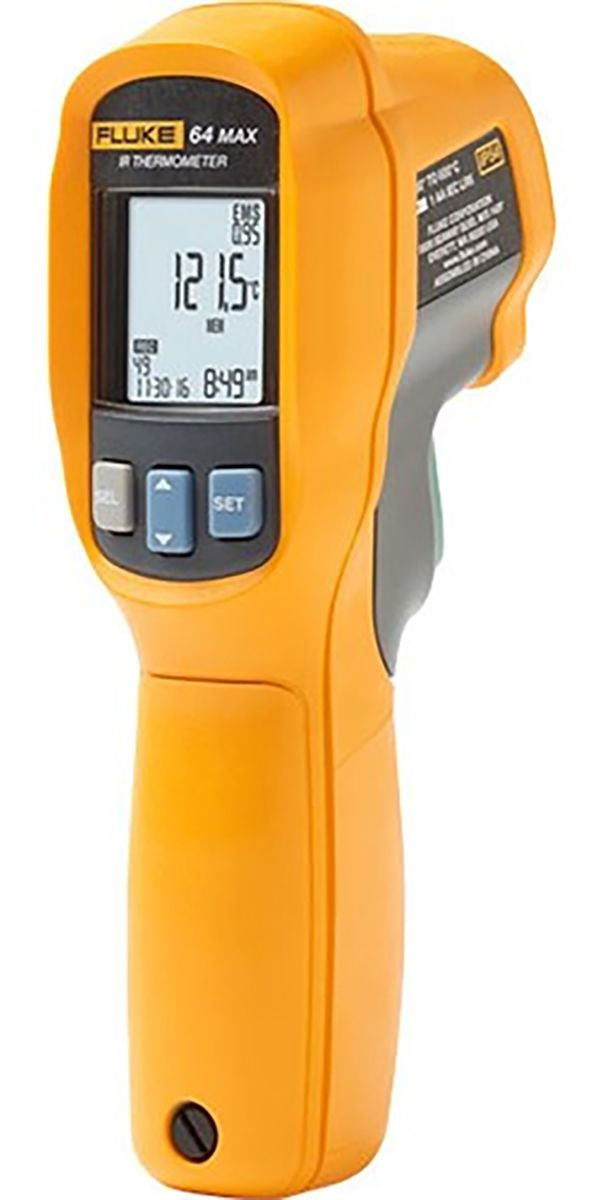 Product image for Fluke 64 MAX IR Thermometer 20:1 D:S
