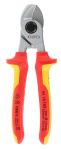 Product image for Knipex VDE/1000V Insulated 165 mm Flush Cutters
