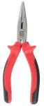Product image for RS PRO Chrome Vanadium Steel Pliers Long Nose Pliers, 160 mm Overall Length