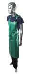 Product image for Alpha Solway Chemmaster Green PVC Reusable Apron, Chemical Resistant 910mm