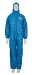Product image for 3M 4500 Blue Protective Coverall L