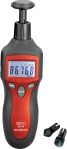 Product image for RS PRO Tachometer, Best Accuracy ±0.05% + 1 digit Contact, Non Contact LCD
