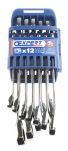 Product image for 12 RATCH WRENCH ON RACK 8-19MM
