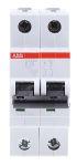 Product image for S200 MCB 20A 2 Pole Type B 10kA