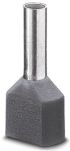 Product image for Ferrule 23mm Grey AI-TWIN 2X 4-12 GY