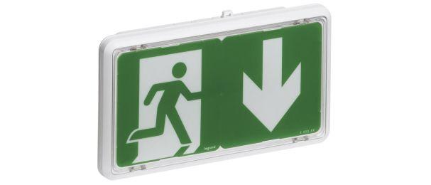 Brandschutz-Ratgeber (Vorschaubild mit Notausgangsschild)