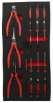 Product image for 10pc Precision Plier and Screwdriver Set