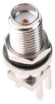 Product image for SMA bulkhead end launcher,50 Ohm, sealed