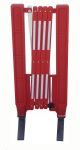 Product image for Red/white expanding plastic barrier