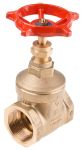 Product image for PEGLER BRASS GATE VALVE,1 1/2IN BSPT F-F